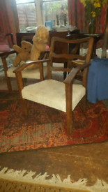 Childs arts and crafts arm chair