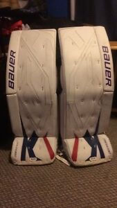 Pro return Bauer One100 34+3 goalie pads
