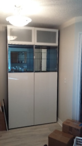 Display cabinet / wall unit / living dining room storage