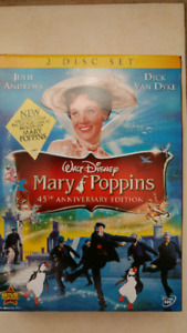 Mary Poppins brand new 45th anniversary edition.