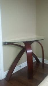 3 tables basses en verre 400,00 $