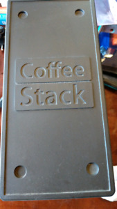 Coffee stack for keurig k cup