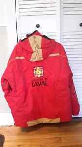 Manteau d'hiver Université Laval small au couleur du Rouge et Or