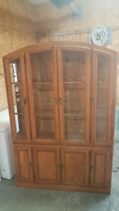 Nice hutch cabinet for sale