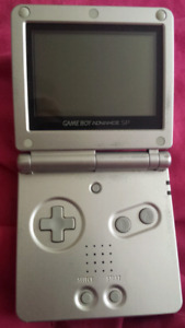 Gameboy advanced sp