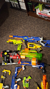 Lot of Nerf Guns