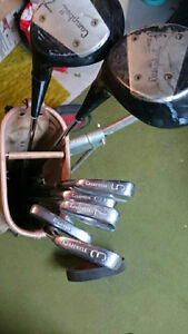 Vintage golf equipment
