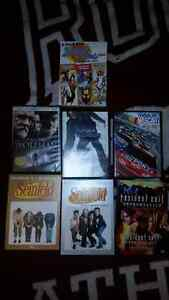 Assorted movies & tv shows