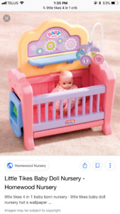 Little tikes doll crib ,little tikes piano ,blocks with music