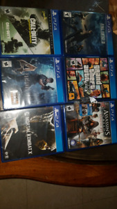 Sealed ps4 games bnib for sale or trade