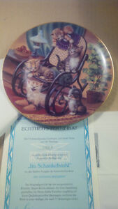 Bradex Franklin Mint cat print plates with certificates Oakville / Halton Region Toronto (GTA) image 1