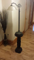 Beautiful lamp with stand