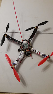 RC Quadcopter, DJI f450, multirotor, drone, FPV
