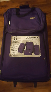 "2 Pieces of Luggage -- 27.5"" upright & carry on"