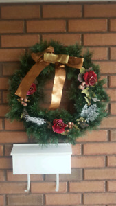 "NEW Christmas Wreaths 23.5"" circumference"