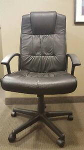 Executive high back office chairs- 6 available