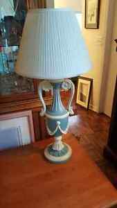 Beautiful vintage Greek style lamp