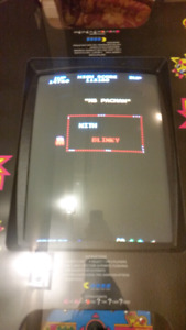 Mrs pac man cocktail style arcade game