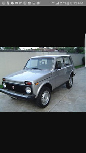 Looking for a Lada Niva
