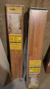 Flooring material...vinyl tile and laminate