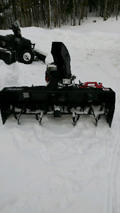 Side by side/Quad snowblower