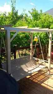 Gazebo style Swing and daybed 3 person
