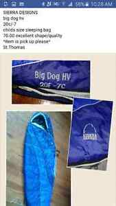 Sierra designs sleeping bag