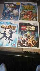 Wii games. $20 for all.