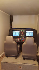TC approved flight simulator