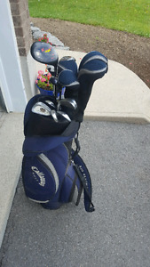 Callaway Golf bag and Misc set of clubs
