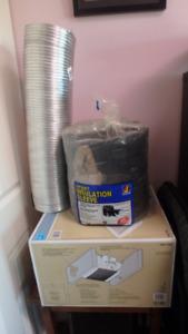 Hampton  Bay Fan/Ducting/Insulation