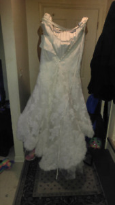 The wedding dress i bought for my ex