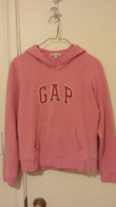GAP pink hoody small size