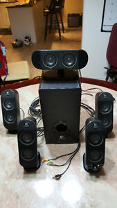 Logitech X-530 70W 5.1 Channel Speaker System