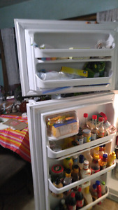 Fridge and freezer