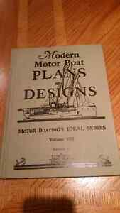 3 older books on modern boating and marine engines