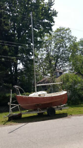 Nordica 16ft Sailboat