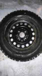 Winter tires and rims Peterborough Peterborough Area image 2