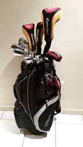 Complete taylormade golf set