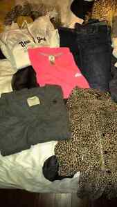 Lot of Hollister, A&F, Adidas (LARGE)