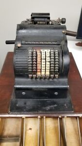 Antique Crank Style Cash Register