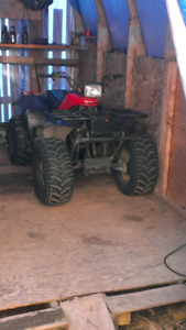 86 Yamaha 200 'Get on and Go' Will include plow in the deal $700