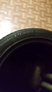 Hankook Winter i*cept evo2 (Two tires) 245/45/17