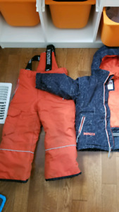 Children's snow suits, snow jacket, snow pants