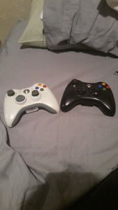 X box 360 remotes without battery packs