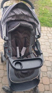 Safety first step and go stroller