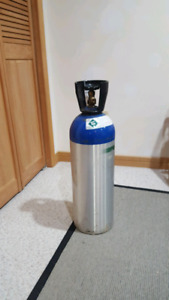 20lb aluminum CO2 tank (valid cert 2016 tested)