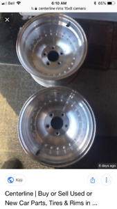 Wanted  2- Centerline 15x8 or 8.5 rims - must be real for 5X4.75