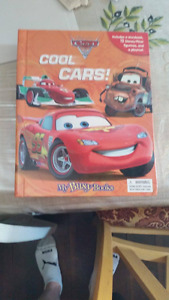 Cool Cars Book with Action Figures of the Characters