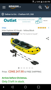 K2 Explorer Inflatable Kayak